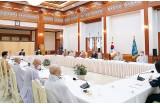통리원장 등 불교계 지도자 청와대 초청